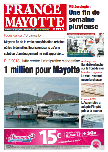 France Mayotte Jeudi 7 décembre 2017