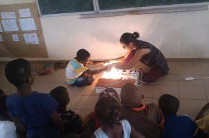 Un projet éco-école à l'école primaire Majicavo-Koropa 1