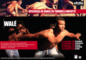 Suite de la tournée du spectacle Walé à Mayotte