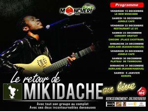 Mikidache de retour sur scène