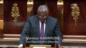 Le député Mansour Kamardine réagit à la découverte d'un volcan sous-marin à 50km de Mayotte