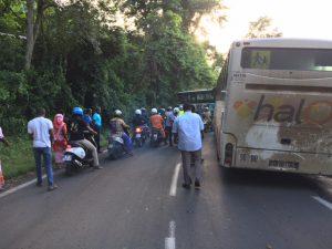 Tous les bus engagent une opération escargot pour rejoindre Mamoudzou