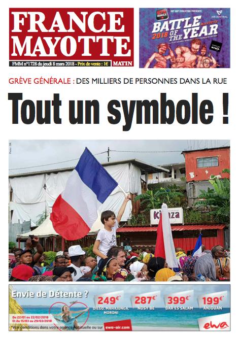 France Mayotte Jeudi 8 mars 2018