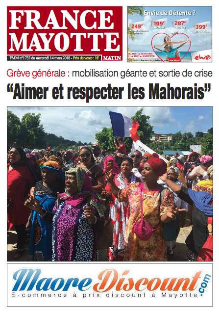 France Mayotte Mercredi 14 mars 2018