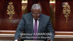 Mansour Kamardine réagit à la baisse de la tension diplomatique entre la France et les Comores