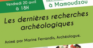 Une conférence sur les nouvelles recherches archéologiques à Mayotte