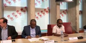 L'intersyndicale de Mayotte présente sa plateforme revendicative à Paris (vidéo)