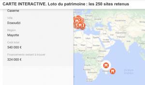 Un loto du patrimoine pour réhabiliter 250 sites français dont l'ancienne caserne de Dzaoudzi