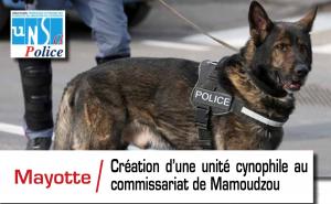 UNSA Police se réjouit de la création de la brigade canine le 2 mai prochain