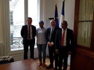 L'Union Départementale des Associations Familiales de Mayotte a été reçue au ministère de l'intérieur
