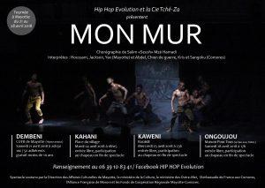 Mon Mur : début de tournée à Mayotte pour ce spectacle de danse haut en performance