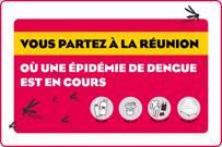 Recommandations de l'ARS face à l'épidémie de dengue à La Réunion