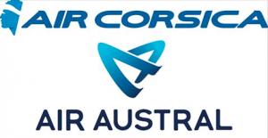 Des vols vers la Corse via Marseille avec Air Austral en partenariat avec Air Corsica