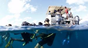 Baptêmes de plongée pour les vainqueurs du concours de dessin du Festival de l'Image Sous-marine (photos)