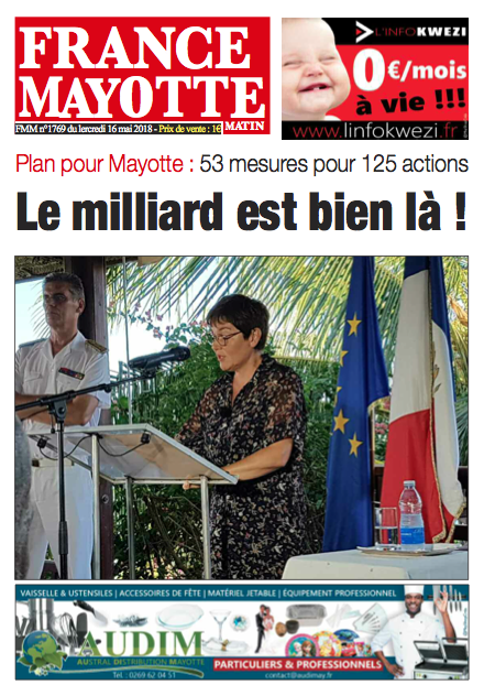 France Mayotte Mercredi 16 mai 2018