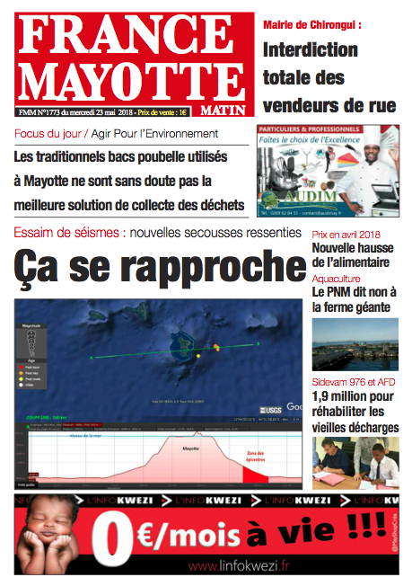 France Mayotte Mercredi 23 mai 2018