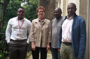 Le secrétariat général de la CFDT Mayotte reçu au ministère de l'éducation nationale puis à Matignon