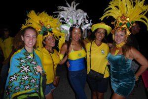 Le match Brésil-Suisse a animé le Four à Chaux hier soir (photos)