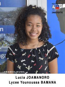 Lucia JOAMANORO Lycée Younoussa BAMANA