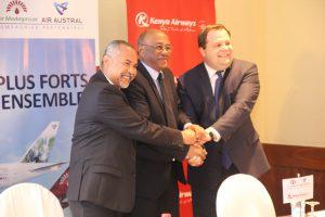 AIR AUSTRAL, AIR MADAGASCAR et KENYA AIRWAYS vers un Partenariat Privilégié