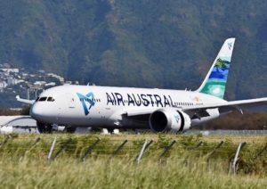 Air Austral modifie ses vols au moins jusqu'au 21 juin