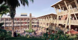 Lycée des métiers du bâtiment : le Vice-rectorat choisit le projet de l'agence « Encore Heureux »