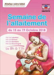 Semaine de l'allaitement maternel : information et sensibilisation sur les bienfaits dans les salles d'attente des PMI