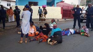 Les bouenis du collectif ont fait fermer le dispensaire Jacaranda