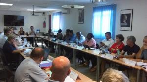Le CODAF fait le bilan en réunion plénière