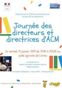 Accueil Collectif des Mineurs (ACM) : la 6ème journée des Directeurs et Directrices se prépare