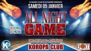 Levée de fonds pour la participation de BCM au 16ème de finale de la Coupe de France de basket