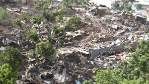 Les autorités ont accéléré les destructions sur le terrain Batrolo pour limiter la récupération des matériaux de construction