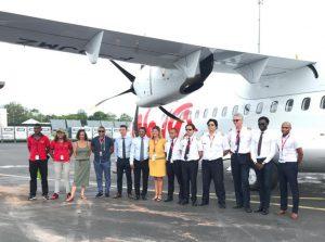 Ewa Air : arrivée des deux nouveaux ATR 72-600