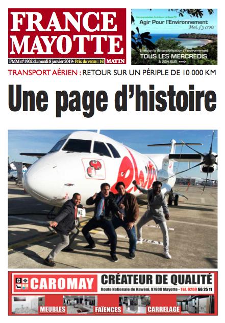 France Mayotte Mardi 8 janvier 2019
