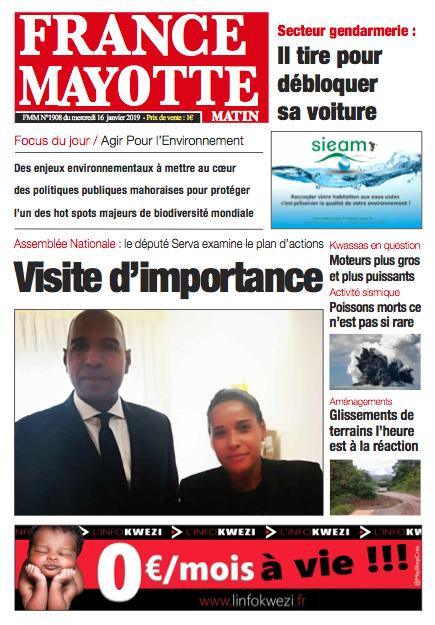 France Mayotte Mercredi 16 janvier 2019