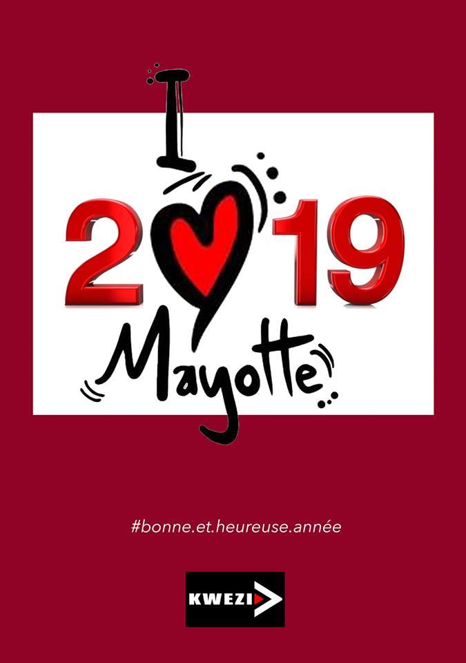 France Mayotte Bonne année 2019