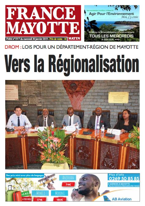 France Mayotte Mercredi 30 janvier 2019