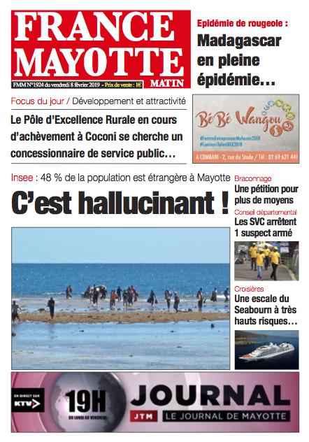 France Mayotte Vendredi 8 février 2019
