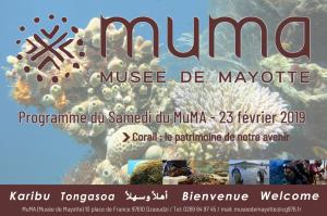 Samedi du MuMA du 23 février 2019 « Corail : le patrimoine de notre avenir »
