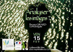Conférence au CUFR sur le thème de «Analyser les images» par M. Girard, docteur en études cinématographiques
