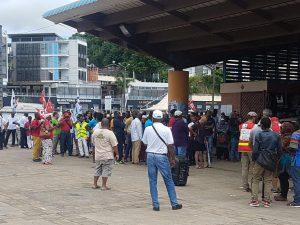 150 à 250 manifestants ont répondu à l'appel de l'intersyndicale de l'éducation