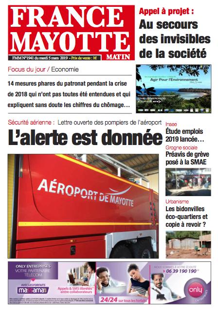 France Mayotte Mardi 5 mars 2019