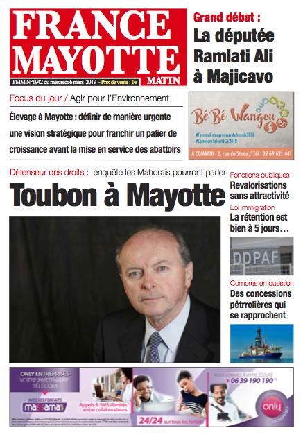 France Mayotte Mercredi 6 mars 2019
