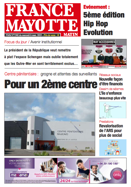France Mayotte Jeudi 7 mars 2019