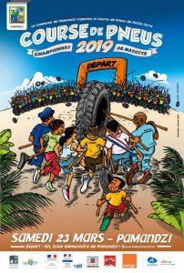 Course de Pneus : Pamandzi accueille la première étape du Championnat de Mayotte