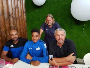 Football : Ilam Djailane, gardien de but formé au FC Labattoir, signe à l'AJ Auxerre