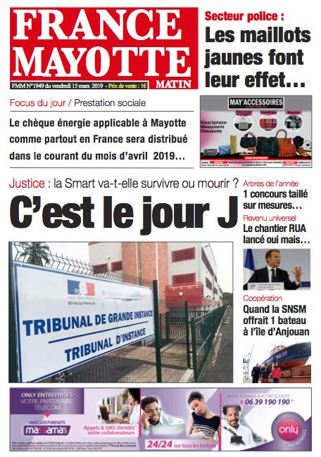 France Mayotte Vendredi 15 mars 2019