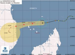 Cyclone Kenneth : point de situation à 18h