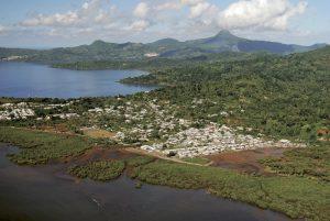 Vues aériennes Mayotte - 22 avril 2008 au matin