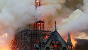 Le conseil départemental réagit à l'incendie survenu à la Cathédrale de Notre-Dame de Paris